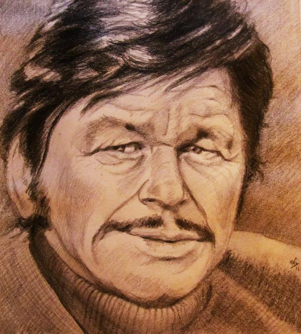 Charles Bronson by RichardV